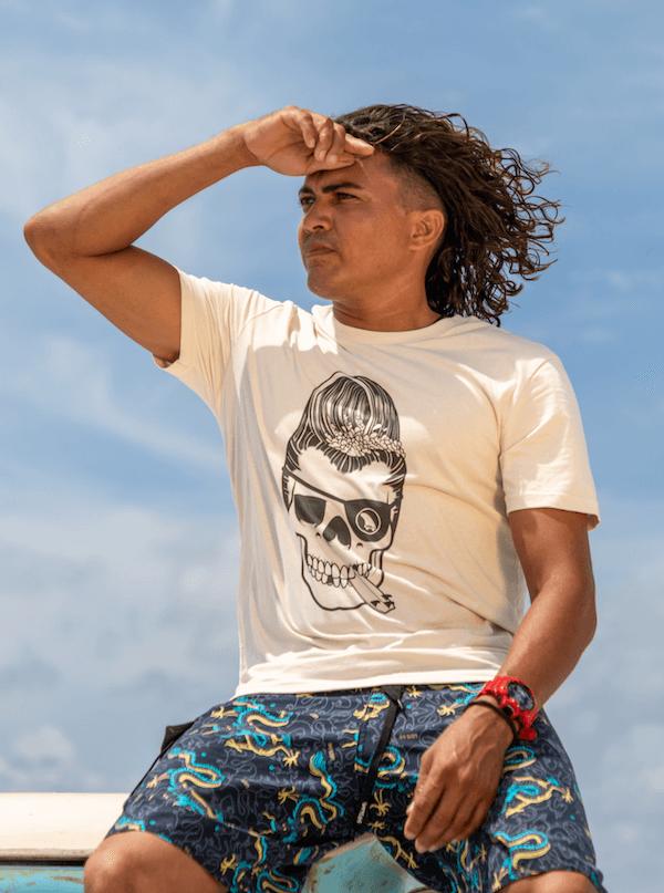 Surf Banaan SWAKiKO | Surf Tees with Soul