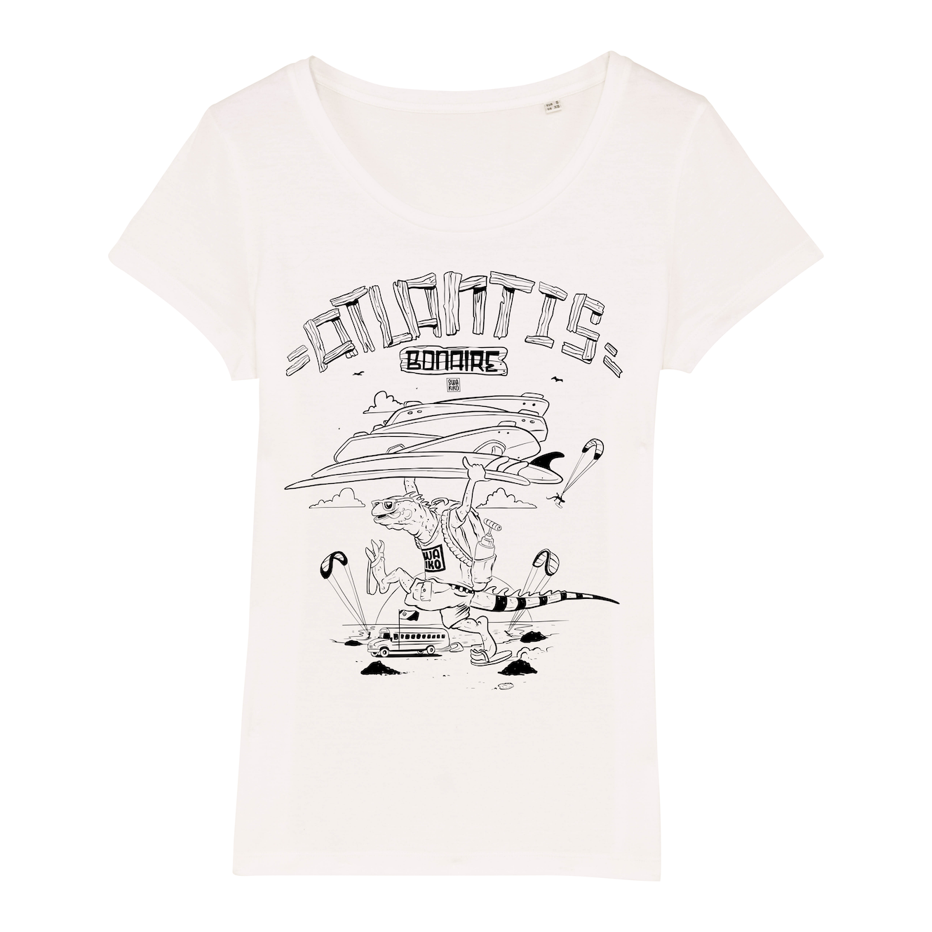 Atlantis Kitebeach T-shirt women white