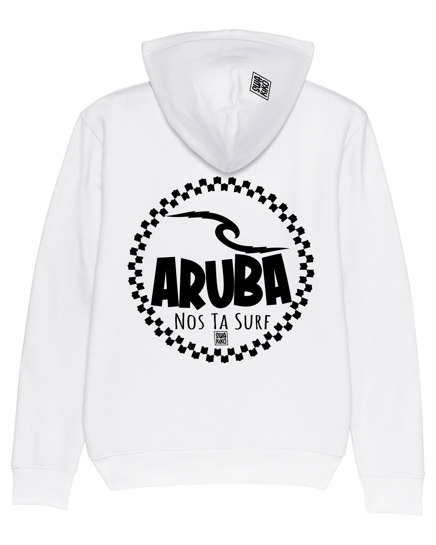 Surf Hoodie Aruba, We Are Surf, white