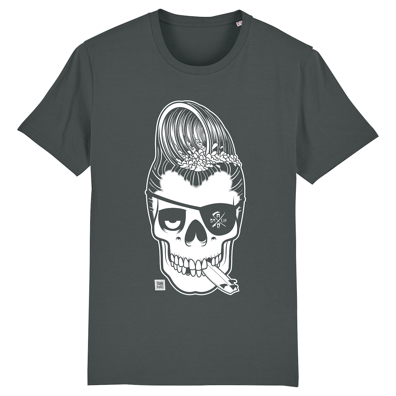Surf T-shirt men anthracite, Haole Surfer