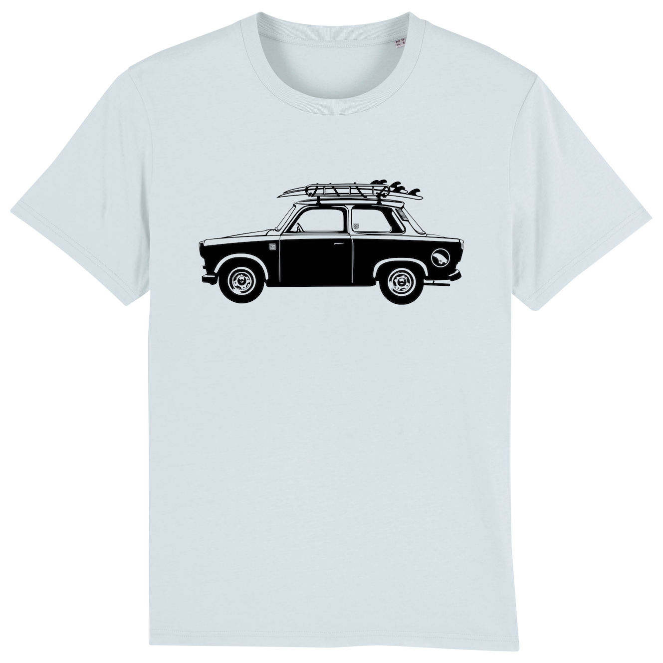 Surf t-shirt men blue, Trabant