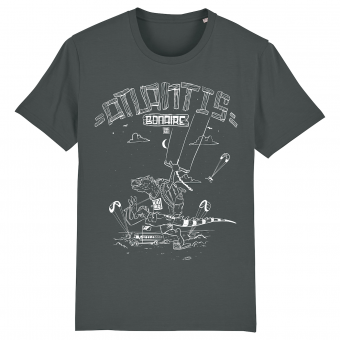 Atlantis Kitebeach T-shirt men anthracite