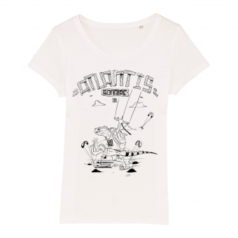 Atlantis Bonaire Kite T-shirt women white
