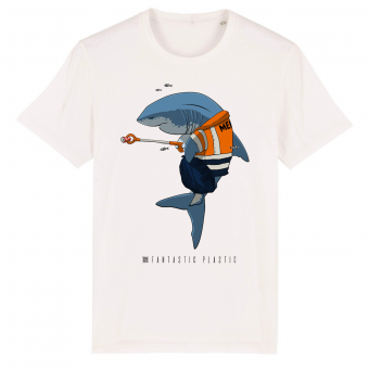 Cleaning Shark men T-shirt
