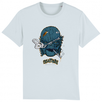 Creature men blue T-shirt