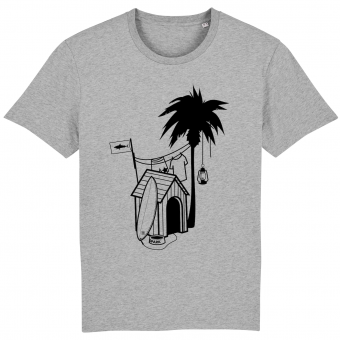 Surf T-shirt men, Doghouse Palmtree