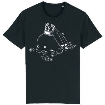 Surf T-shirt men, Drunk Dolphin