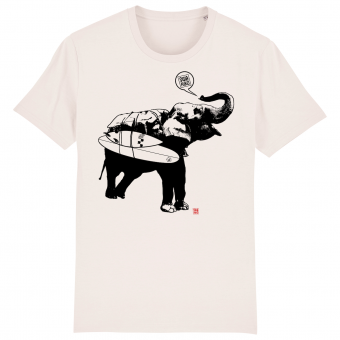 Surf T-shirt men, Elephant