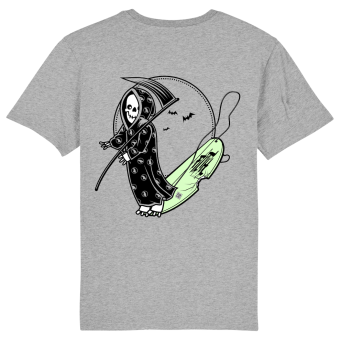 Surf t-shirt men grey, Grom Reaper