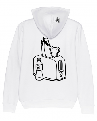 Surf Hoodie Toaster, white