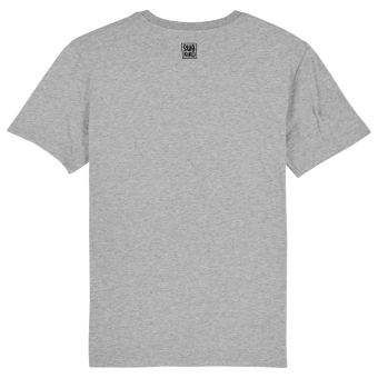 SWAKIKO logo Surf t-shirt men, grey