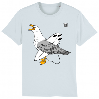 Surf T-shirt Seagull , men, blue
