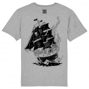Skate T-shirt, SkateShip men grey .png