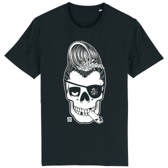 Surf T-shirt men black, Haole Surfer