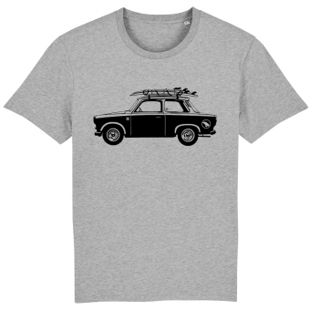 Surf t-shirt men grey, Trabant